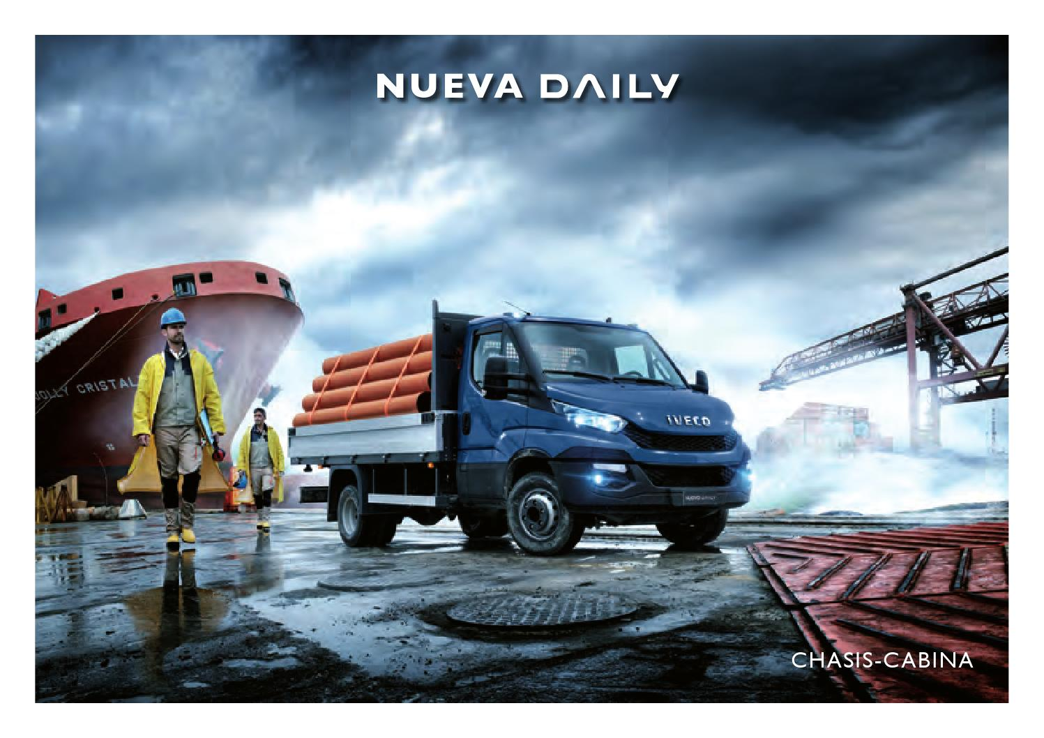 Nueva daily chasis cabina by iveco issuu - Iveco daily chasis cabina ...