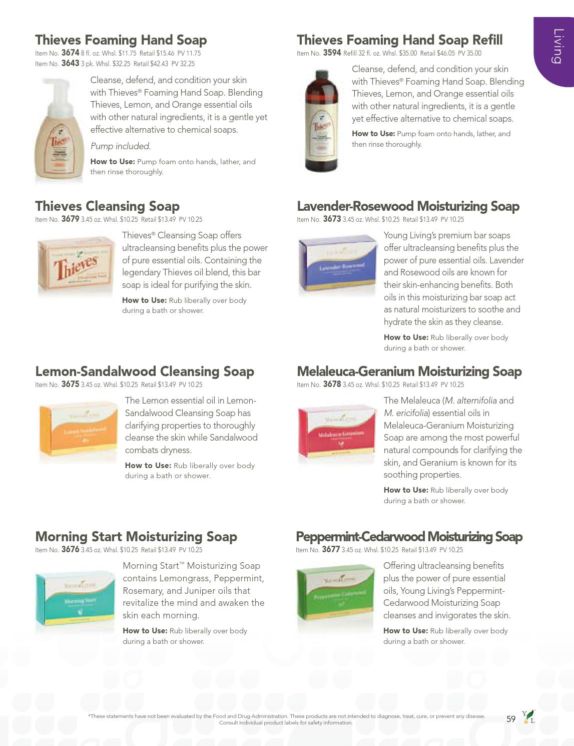 2013 Product Guide Us By Young Living Essential Oils Issuu