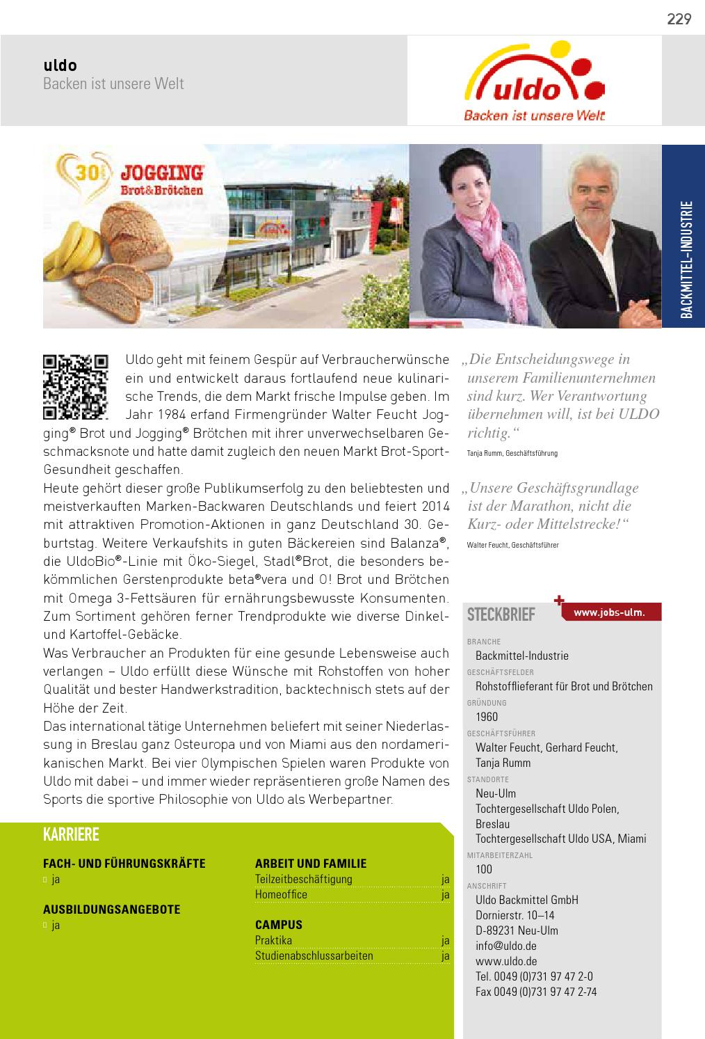 PROFILE ULM 2014 by SMK Medien GmbH & Co. KG | PROFFILE issuu