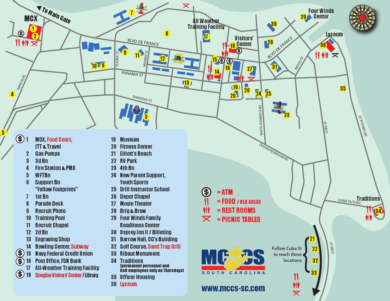 . mcrd parris island map by christopher eiland  issuu