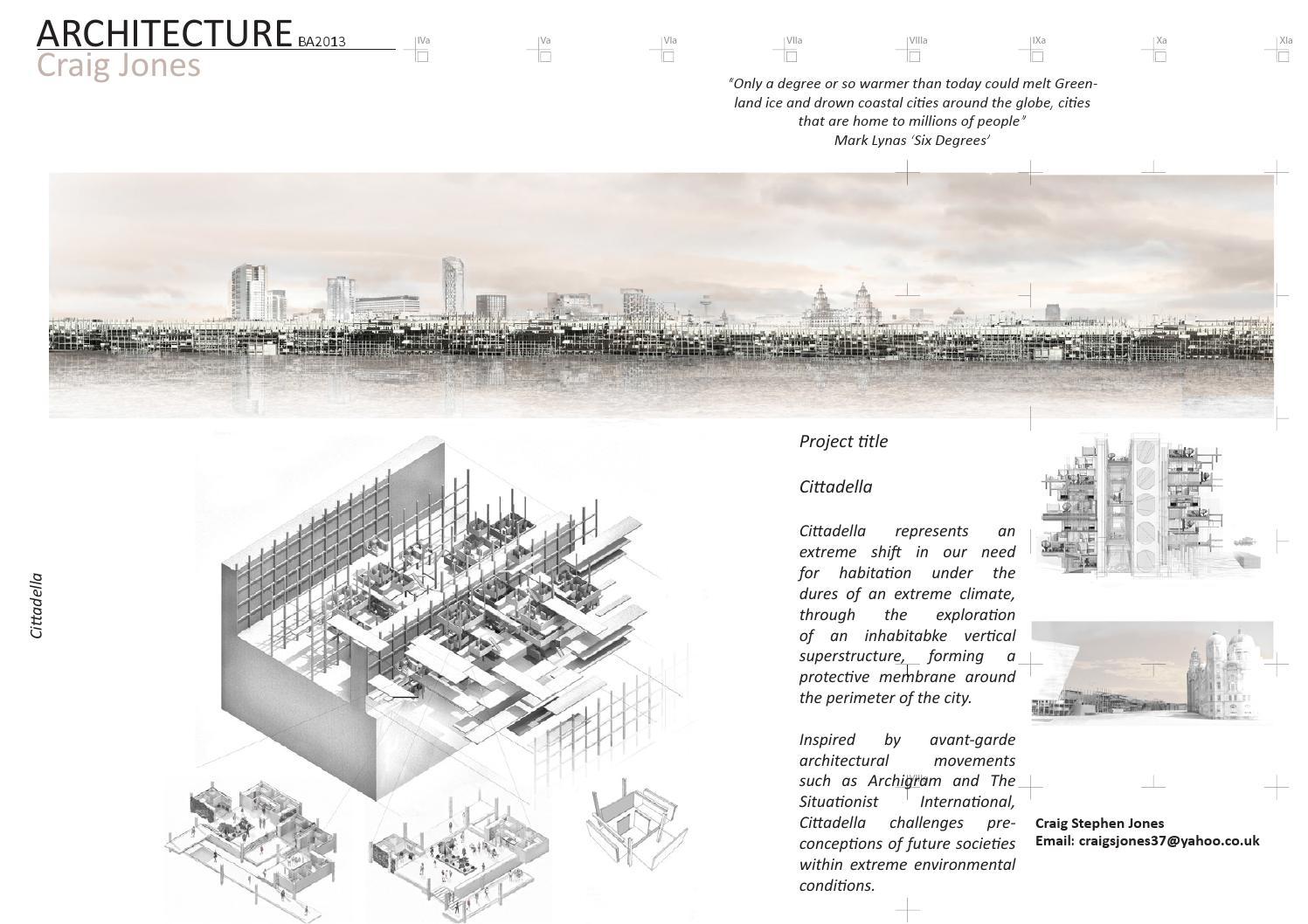 Ba Show Catalogue 2013 By Architecture Ljmu Issuu
