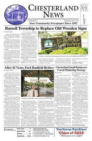 Chesterlandnews 6 11 14 By Chesterland News Issuu