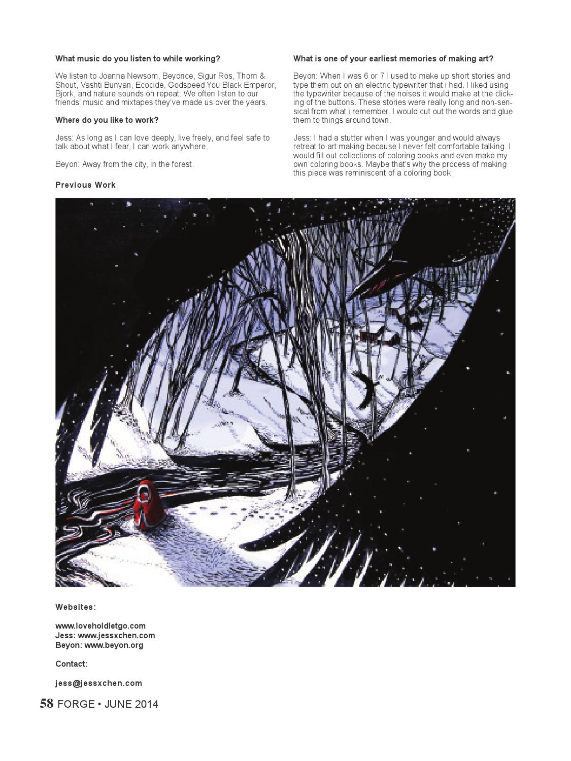 Issue 4 Sentimental By FORGE Art Magazine