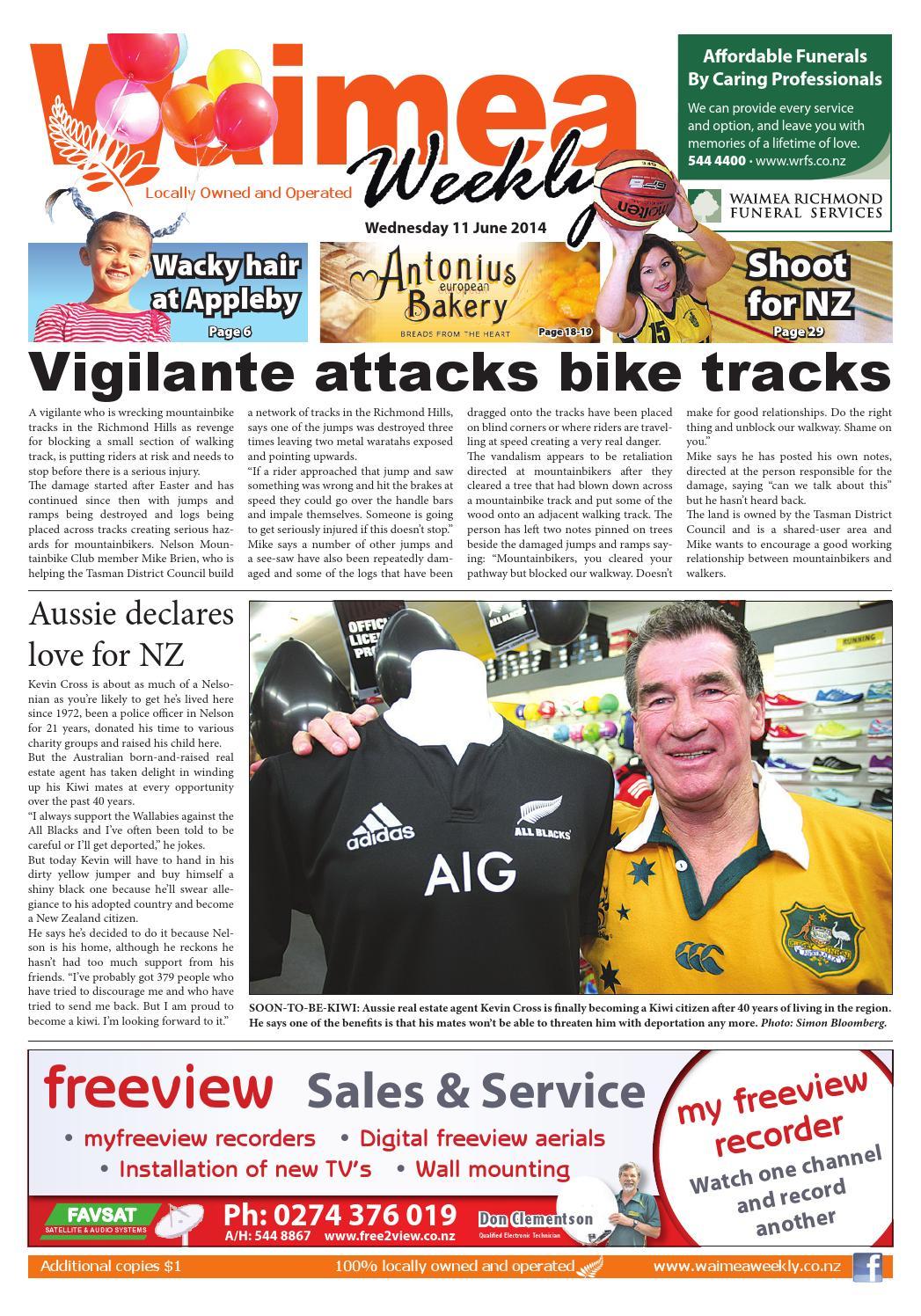 Waimea Weekly 11 06 14 By Local Newspapers Issuu Raptor Wiring Harness Nz