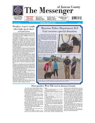 Messenger 080813 by Lewis County Press - issuu