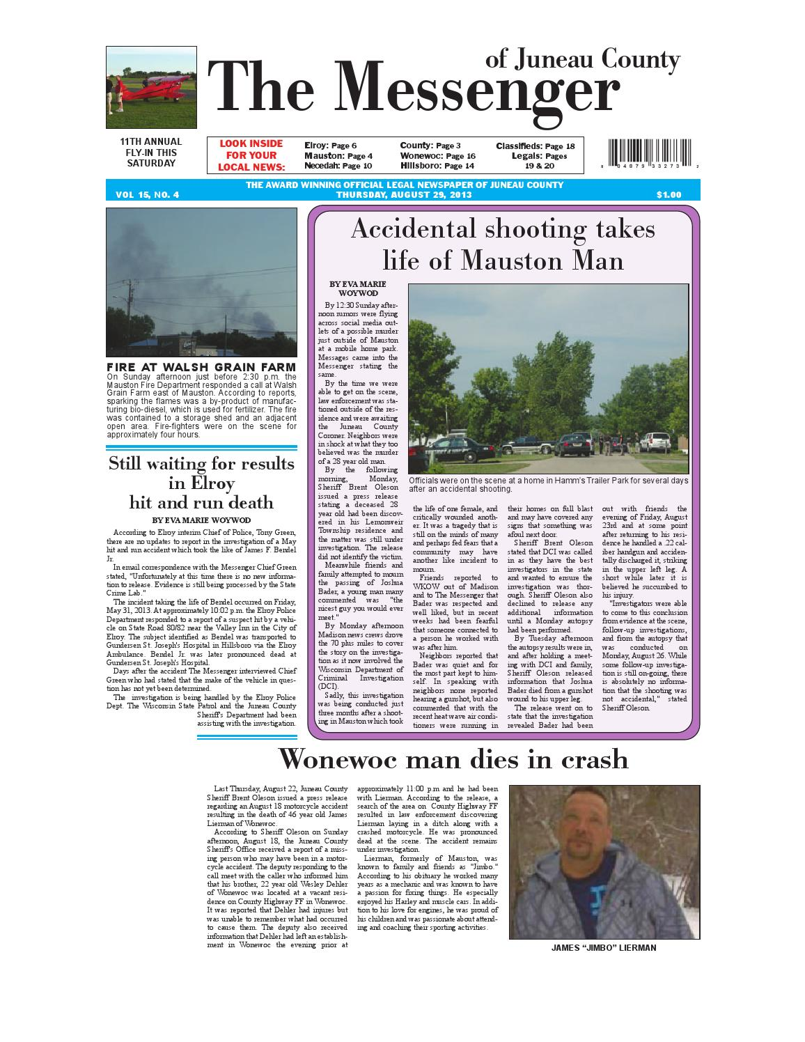 Messenger 082913 by Lewis County Press - issuu