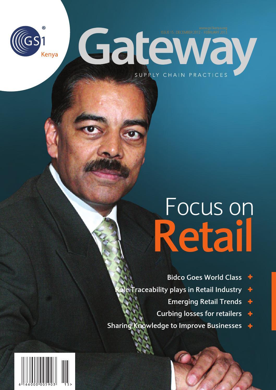 Gateway Issue 15 by GS1KENYA - issuu