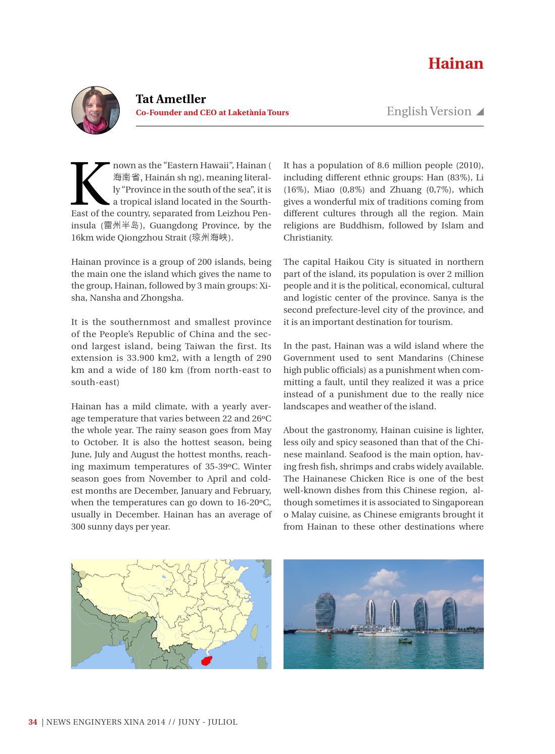 News Enginyers Xina - Juny - Juliol 2014 by Col·legi d