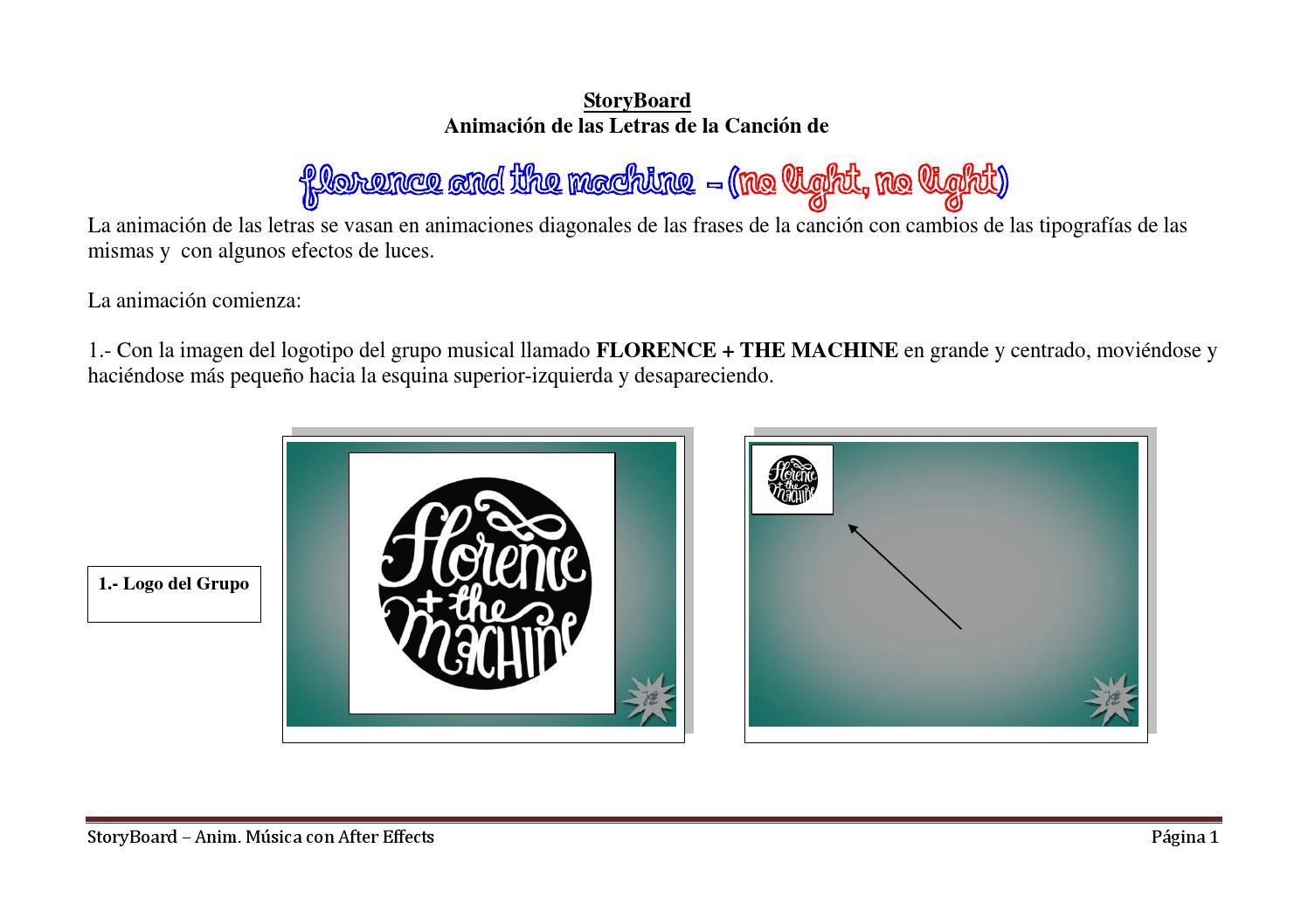 Storyboard Animacion Con Musica By Storm39 Issuu
