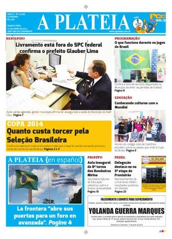 5ea6cbbbfb 20140611 by Jornal A Plateia Livramento - issuu