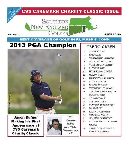 june july 2013 cvs caremark charity classic issue by southern new