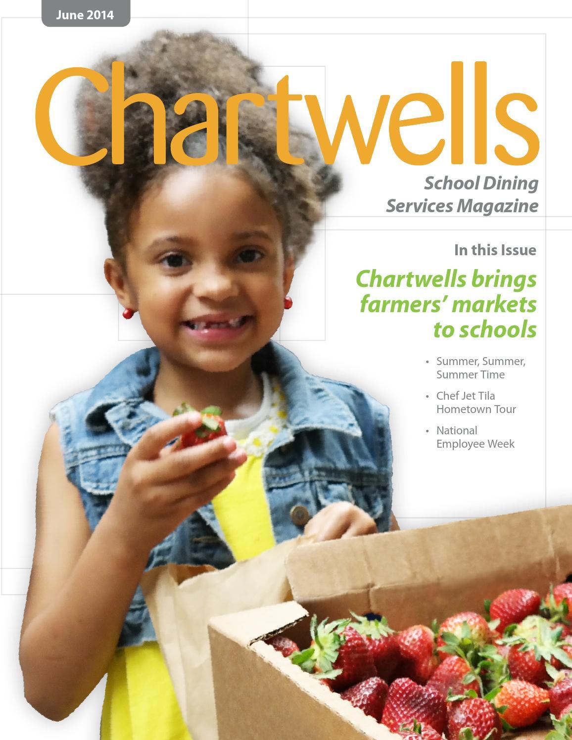Chartwells Magazine - June 2014 by Chartwells K12 - Issuu