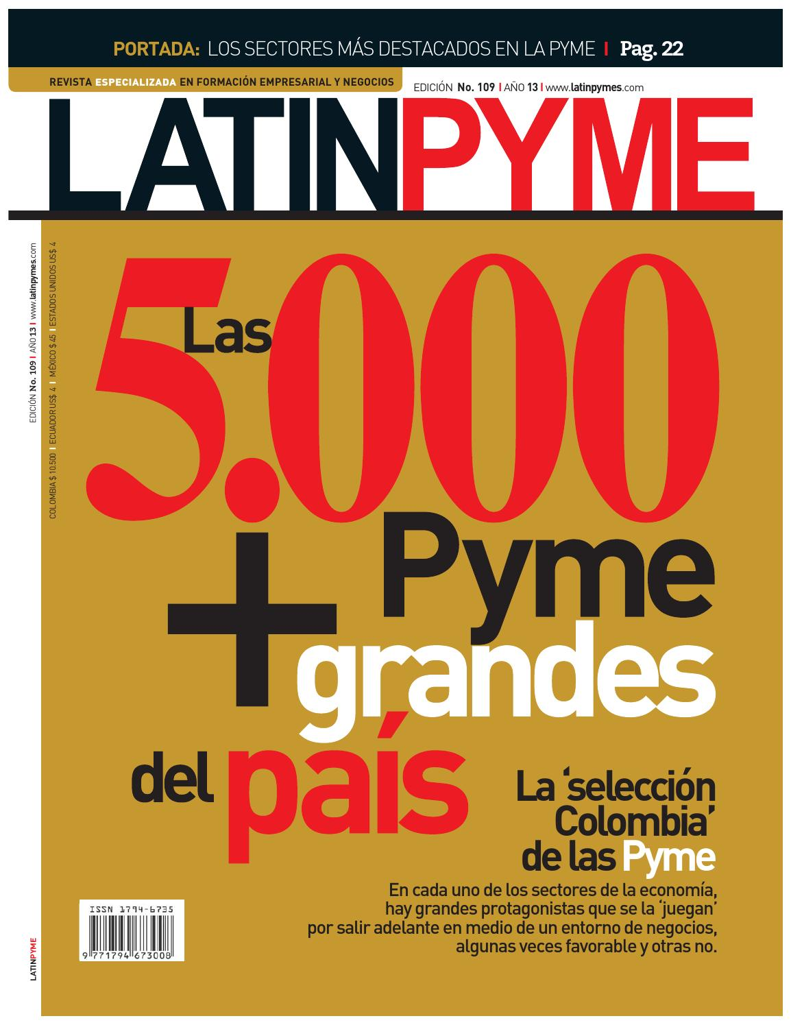 Revista latinpyme 109 by LATINPYME - issuu ce54cbaa891f