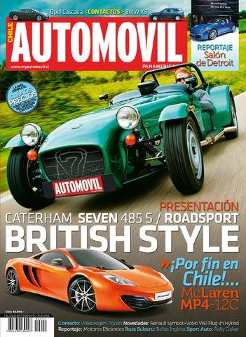 Automóvil Panamericano Edición Chilena (N°54 Febrero 2014-Completa ... 888bf095294e