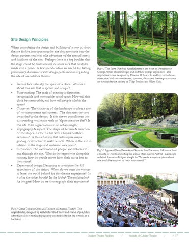 Outdoor Theatre Facilities By Institute Of Outdoor Theatre Issuu