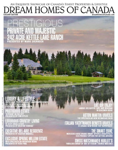 Dream Homes Of Canada Calgary Edition 2014 Issue 02
