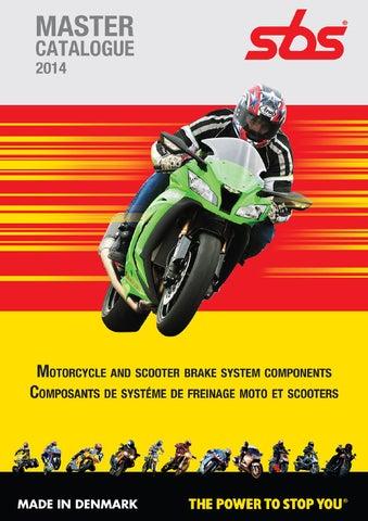 ABE-en acier inoxydable EBC Disque de frein arriere-Kawasaki KMX 125