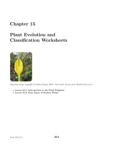 Chapter 15 Ck 12 Biology Chapter 15 Worksheets By Watabec