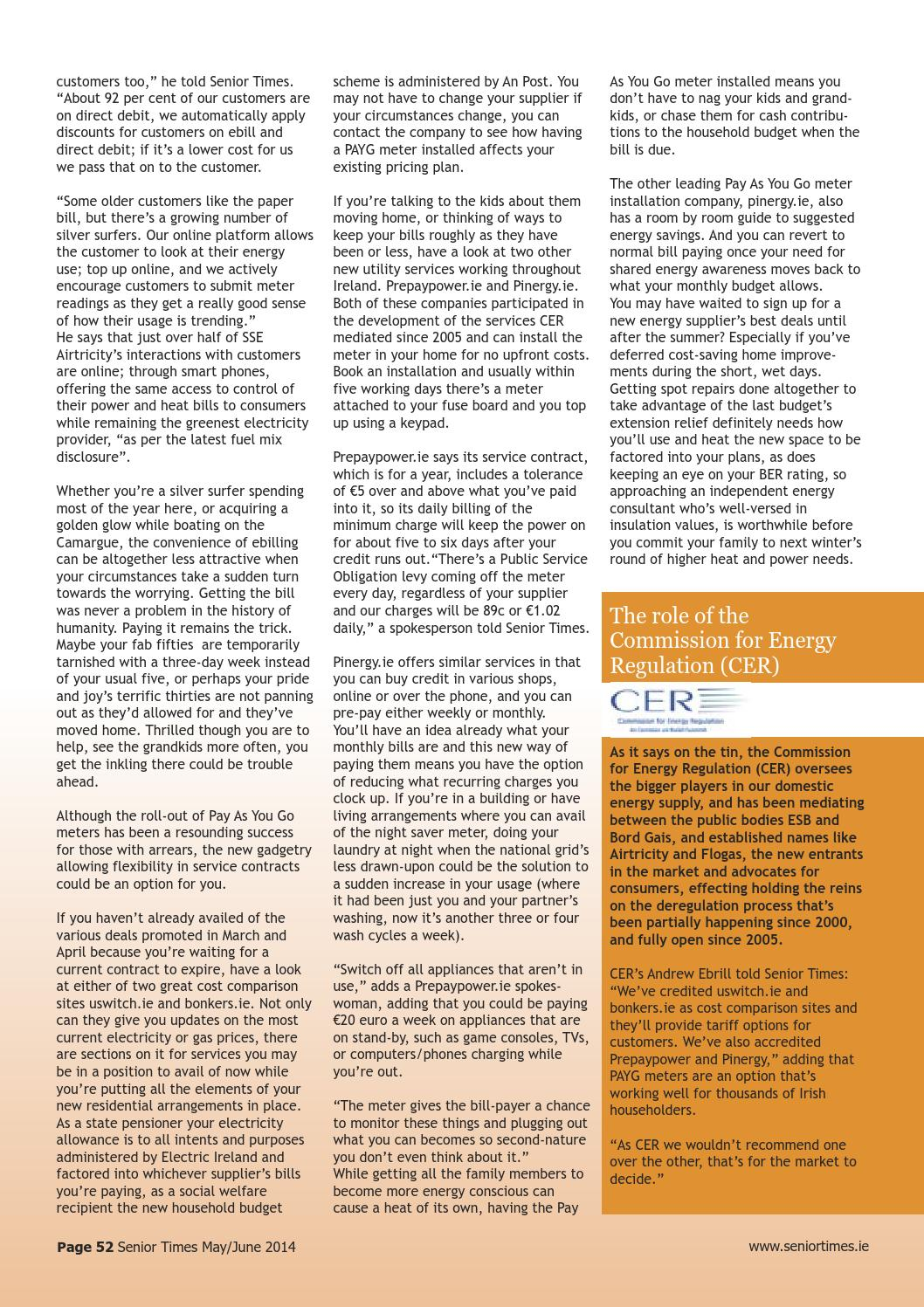 Direct Energy Pay As You Go >> Senior Times Magazine May June 2014 By Senior Times