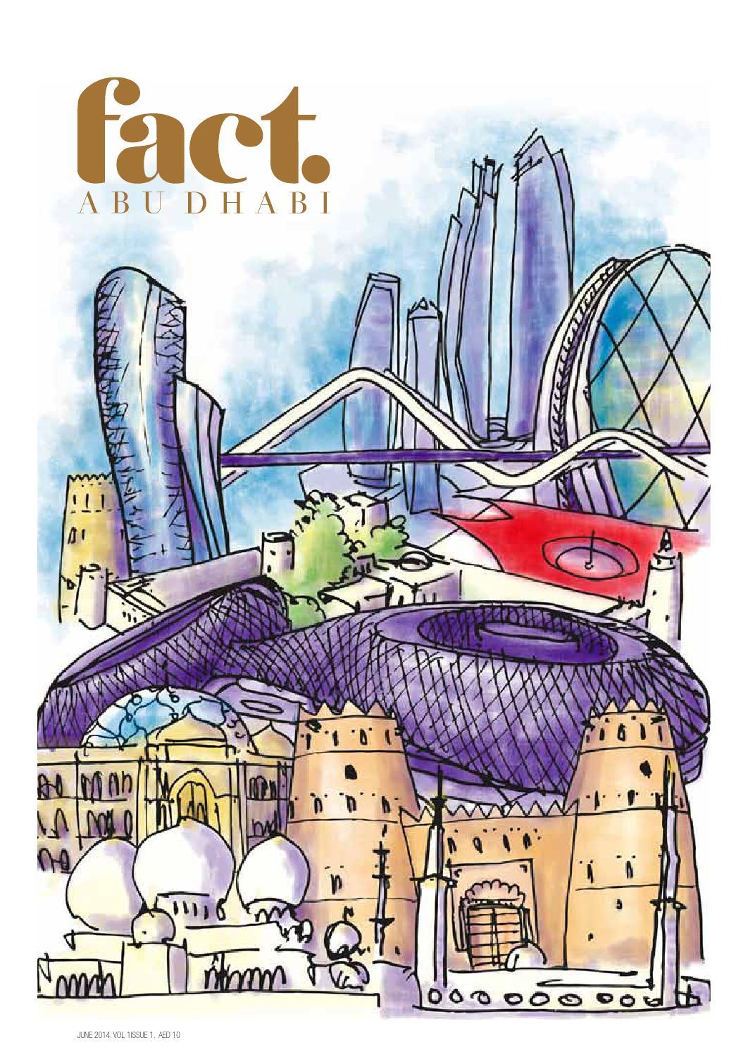 Fact Abu Dhabi June 2014 By Fact Magazine Issuu