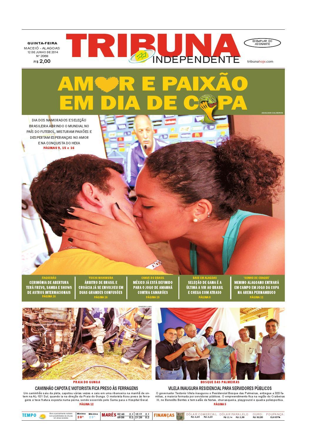 Edição número 2068 - 12 de junho de 2014 by Tribuna Hoje - issuu b739dc2480623