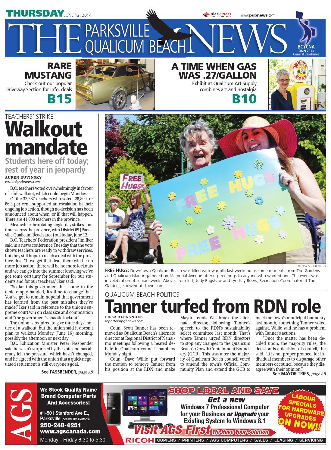 Parksville Qualicum Beach News, June 12, 2014 by Black Press - issuu