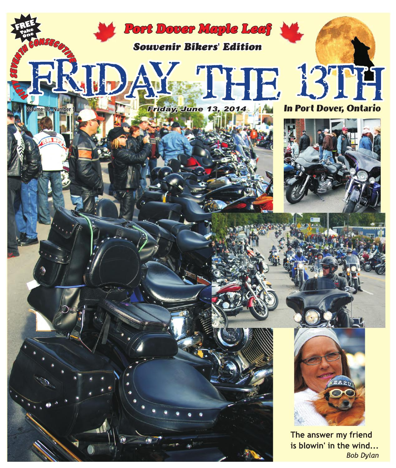 Port Dover Maple Leaf Friday The 13th Souvenir Edition By Port Dover Maple  Leaf   Issuu