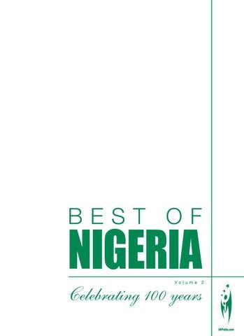 BEST OF NIGERIA - Volume 2 by Sven Boermeester - issuu