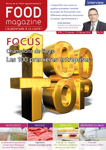 Food magazine n 62 by florence clair issuu for Cuisine financement 0