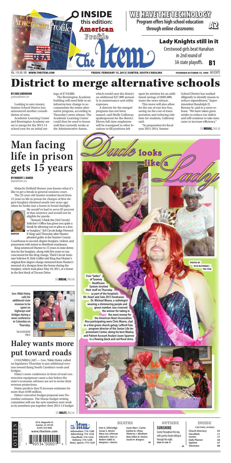 February 15, 2013 by The Sumter Item - issuu