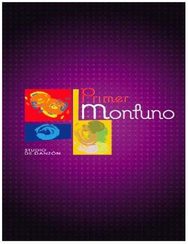 Método Primer Montuno By Primer Montuno Studio De Danzón Issuu