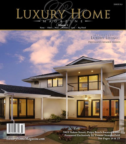 Luxury Home Magazine Hawaii 9.3 By Luxury Home Magazine   Issuu