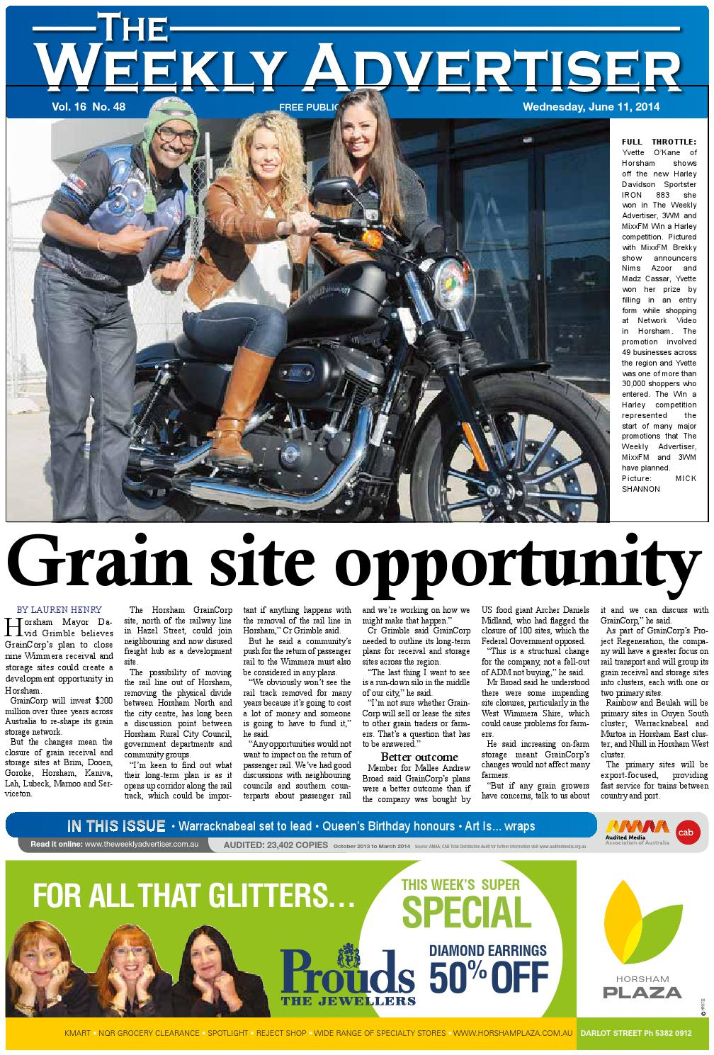 The Weekly Advertiser - Wednesday 35185f8b77b86