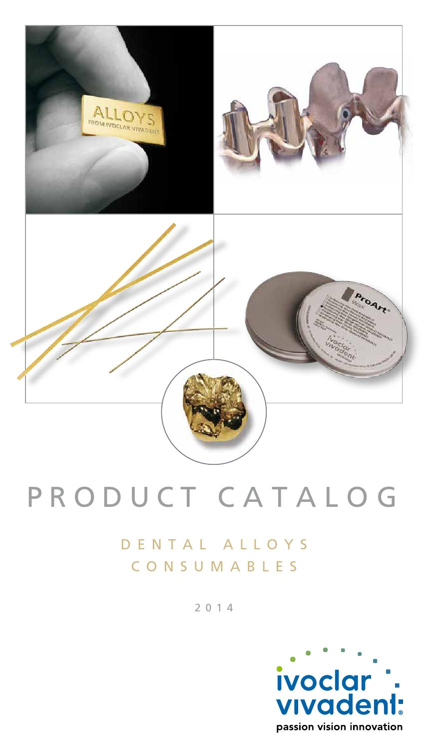 Dental Alloys And Consumables 2014 By Ivoclar Vivadent Issuu Wiring Diagram Omc 583653