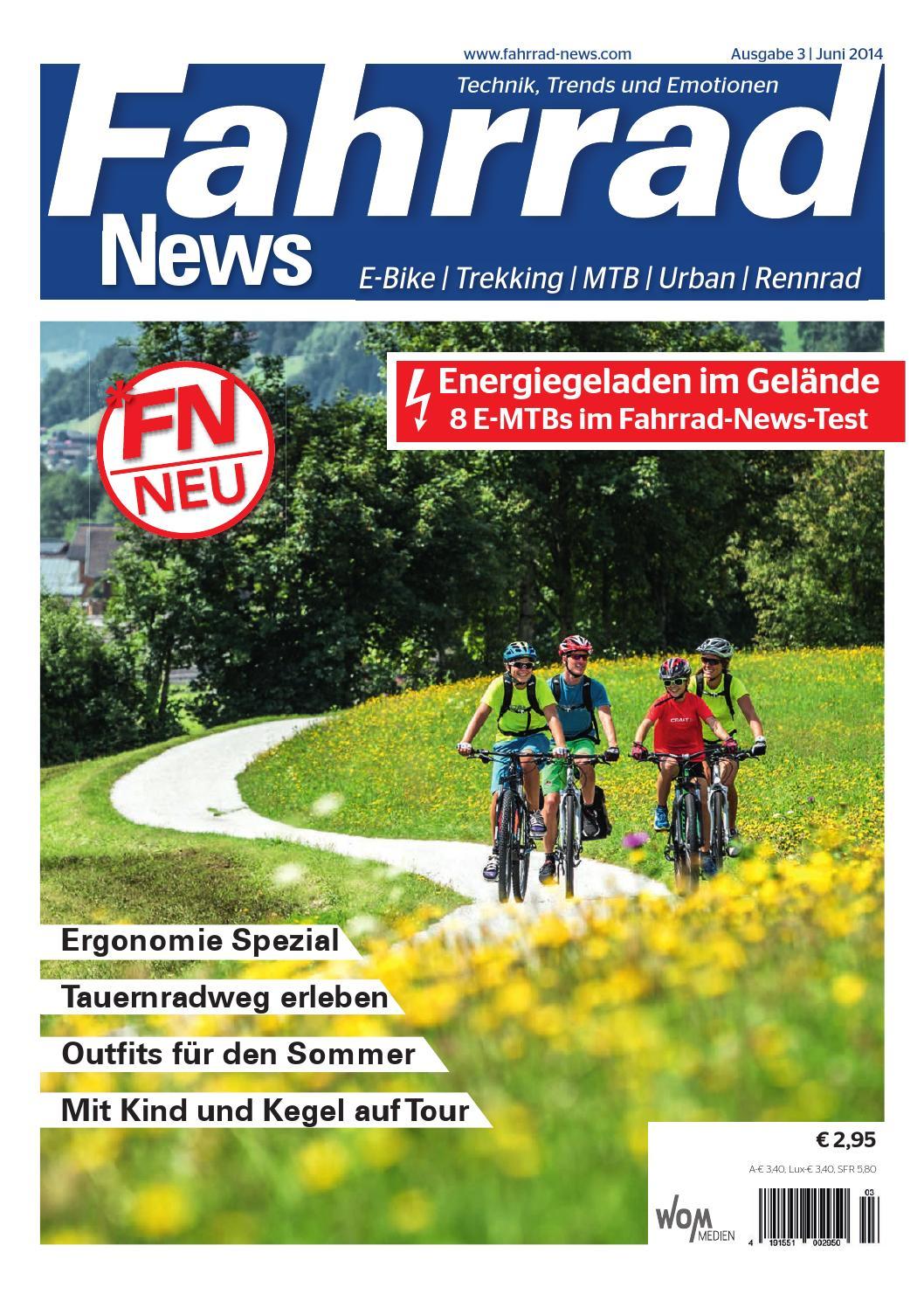 fahrrad news by wom medien issuu. Black Bedroom Furniture Sets. Home Design Ideas