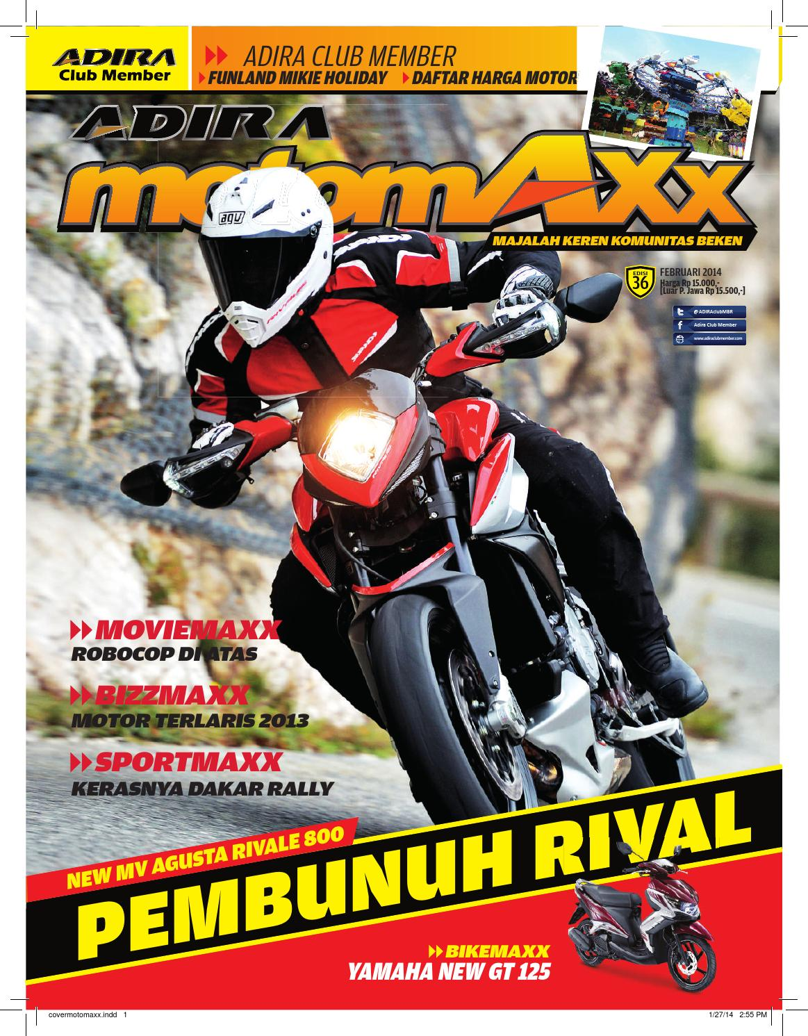 Motomaxx 02 2014 By Adira Member Issuu All New Cb 150r Streetfire Macho Black Kudus
