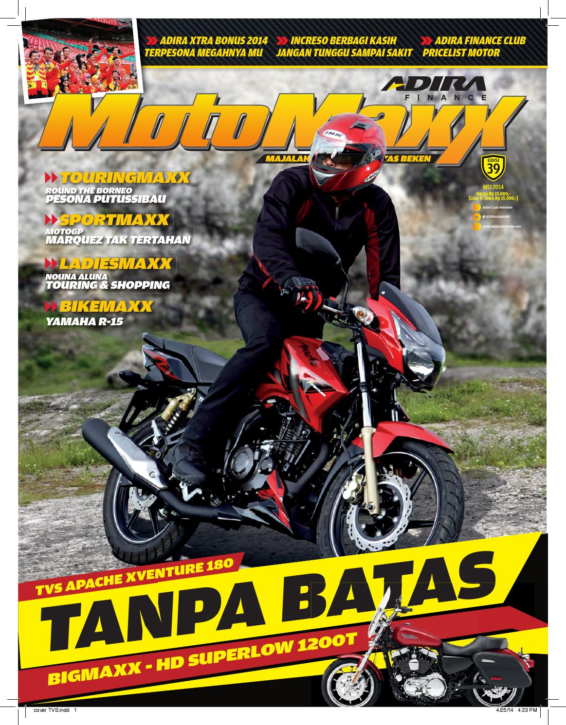Motomaxx 05 2014 By Adira Member Issuu New Vario 110 Esp Cbs Advanced Matte Grey Sukoharjo