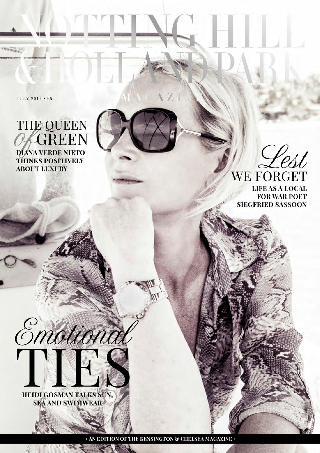 42d9755ea18e The Notting Hill   Holland Park Magazine July 14 by Runwild Media ...