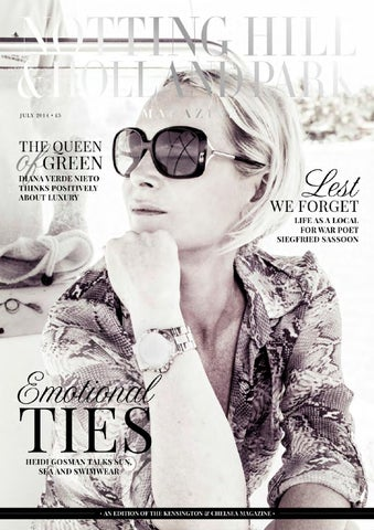 The Notting Hill   Holland Park Magazine July 14 by Runwild Media ... 4059cb257a
