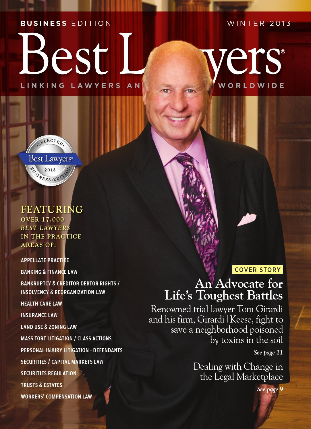 2013 Winter Business Edition By Best Lawyers By Best