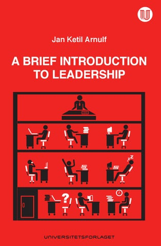 A Brief Introduction To Leadership By Universitetsforlaget Issuu