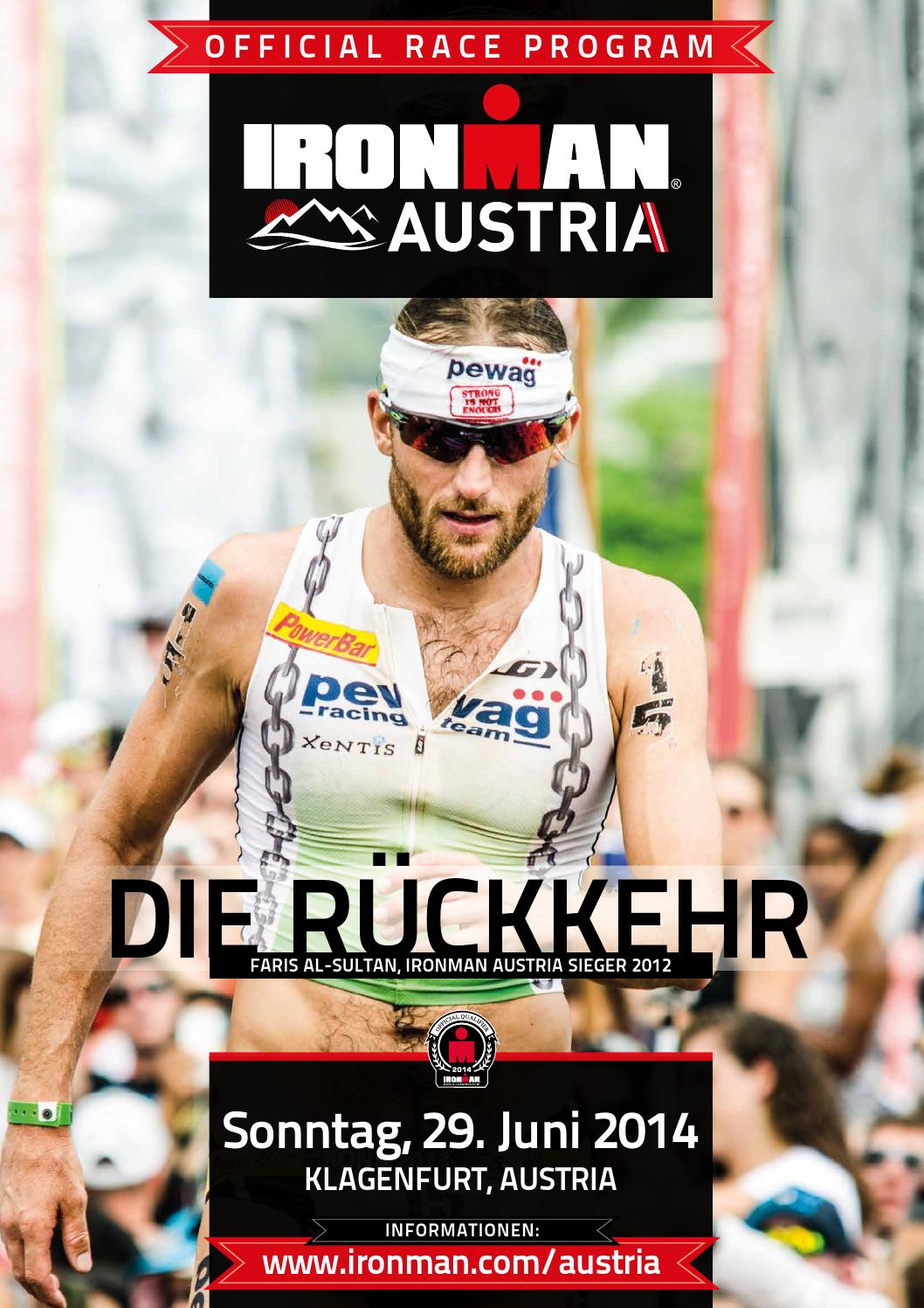 IRONMAN Austria Racebook 2014 by IRONMAN Europe - issuu 2207df0ec8f