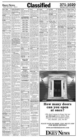 June 13 Classifieds by Norfolk Daily News - issuu