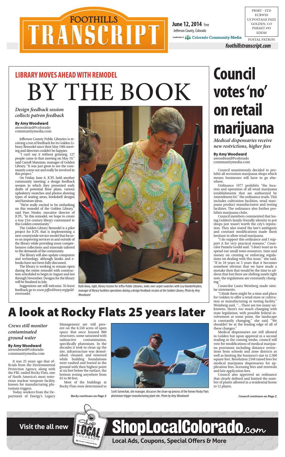 Foothills transcript 0612 by Colorado Community Media - issuu