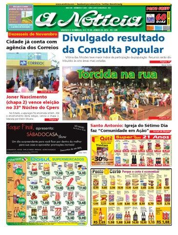 Edição de 14 e 15 de junho de 2014 by Jornal A Notícia - issuu 69b4fbe61b533