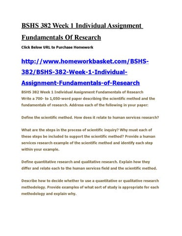 fundamentals of research paper bshs 382