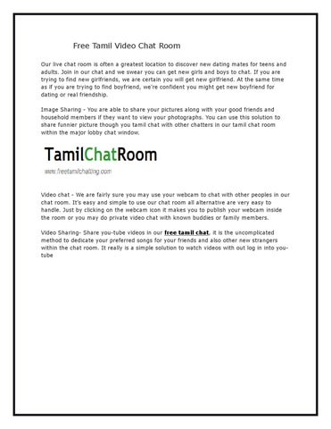 Tamil live chat room