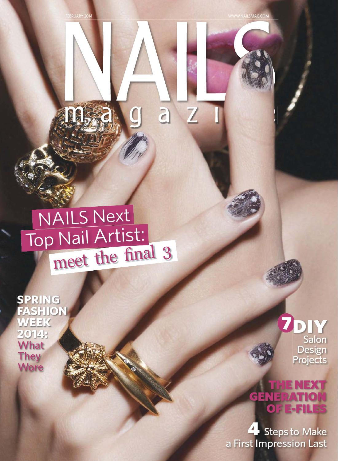 Nails magazine 2014 02 by Reforma Nails CZ - issuu