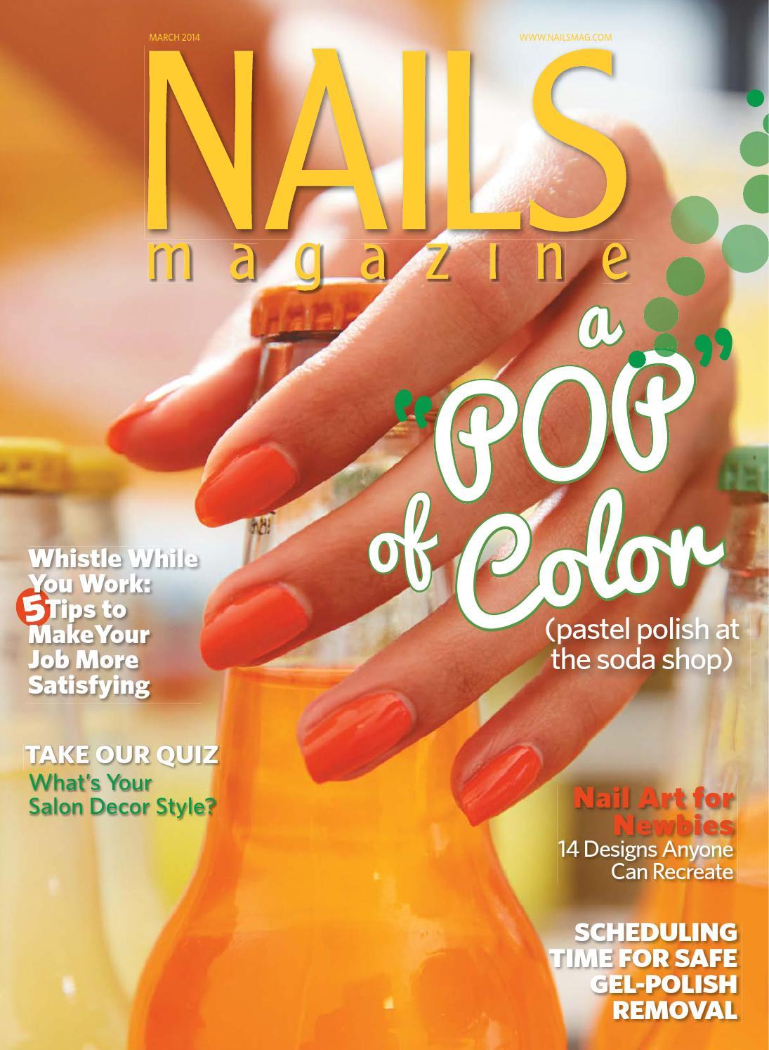 Nails Magazine 2014 03 By Reforma Nails Cz Issuu