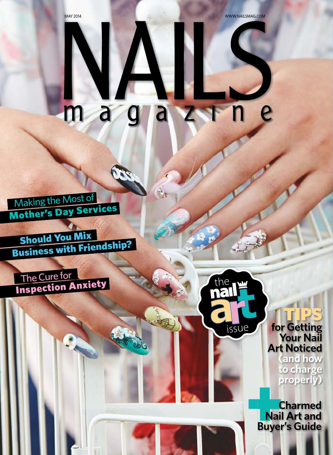 Nails magazine 2014 05 by Reforma Nails CZ - issuu